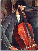 The Cellist Obraz Modigliani zs17666