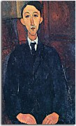 Portrait of the painter Manuel Humbert Obraz Modigliani zs17671