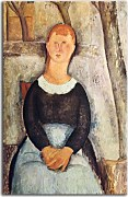 The Pretty Vegetable Vendor Obraz Modigliani zs17674