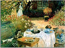 The Luncheon Obraz Monet  zs17713