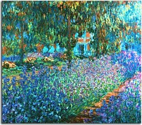 Irises in Monet's Garden 03 Reprodukcia Claude Monet zs17727