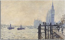 The Thames below Westminster zs17835