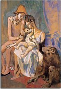 Obraz Picasso - Family of Acrobats with Monkey zs17864