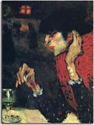 Pablo Picasso - The absinthe drinker zs17875