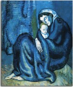 Picasso Obraz - Mother and child zs17882