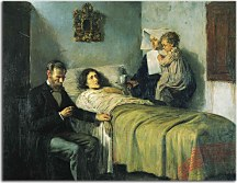 Obraz na stenu Picasso - Science and Charity zs17923