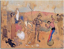 Pablo Picasso - Obraz Family of jugglers zs17964