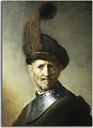 Obraz Rembrandt - An Old Man in Military Costume zs18023