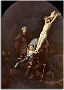 Reprodukcia Rembrandt - The Elevation Of The Cross zs18027