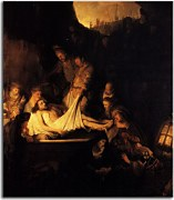 Reprodukcia Rembrandt - The Entombment zs18031