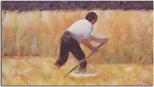 Reprodukcia Georges Seurat - The Mower zs18153