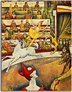 Reprodukcia Georges Seurat  - The Circus zs18156