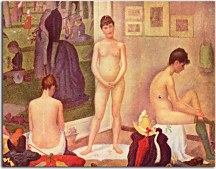 Reprodukcia Georges Seurat - The Models zs18157