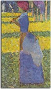 Reprodukcia Georges Seurat - Woman with Umbrella zs18166