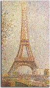 Reprodukcia Georges Seurat - The Eiffel Tower zs18171