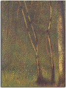 Reprodukcia Georges Seurat - The Forest at Pontaubert zs18180