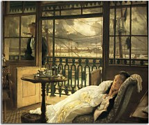 A Passing Storm Obraz James Tissot zs18187