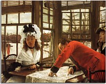 An Interesting Story Obraz James Tissot zs18194