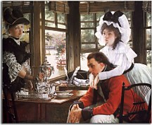 Obraz James Tissot - Bad News zs18198