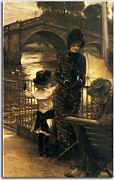 Reprodukcia James Tissot - By the Thames at Richmond zs18203