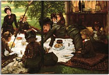Reprodukcia James Tissot  - Children's Party zs18205