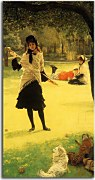 Reprodukcia James Tissot - Croquet zs18207