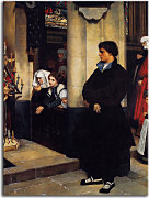 Reprodukcia James Tissot  - During the Service zs18209