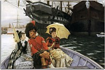 Portsmouth Dockyard James Tissot obraz - zs18220