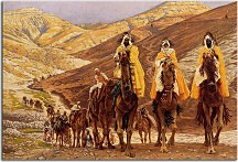 Journey of the Magi - Reprodukcia James Tissot  zs18229