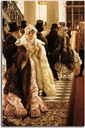 The Woman of Fashion James Tissot Reprodukcia zs18290