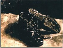 Vincent van Gogh Obraz - A Pair of Shoes zs18373