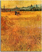 Vincent van Gogh - Arles View from the Wheat Fields zs18377