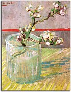 Reprodukcie Vincent van Gogh - Blossoming Almond Branch in a Glass zs18380