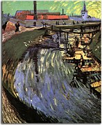 Vincent van Gogh - Canal with Women Washing zs18382