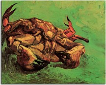 Vincent van Gogh Obraz - Crab on It`s Back zs18386