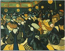 The ballroom at Arles zs18484 - Reprodukcia Vincent van Gogh